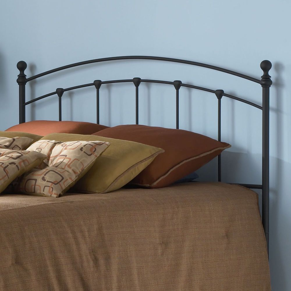 Details About Black Metal Queen Full Size Headboard Bed Home
