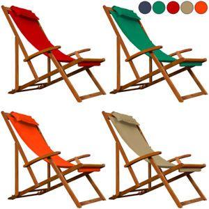 relaxliege garten modern, liegestuhl relaxliege garten sonnenliege strandliege holz stoff deck, Design ideen