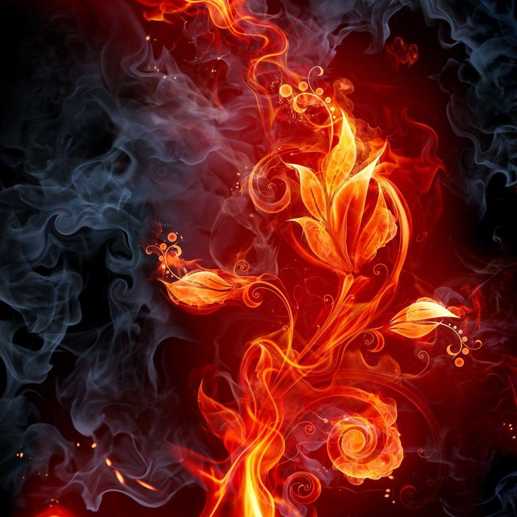 fire wallpaper hd Google Search Papel pintado flores
