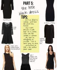 Parisian Style, Part 5: The Little Black Dress - The Stripe