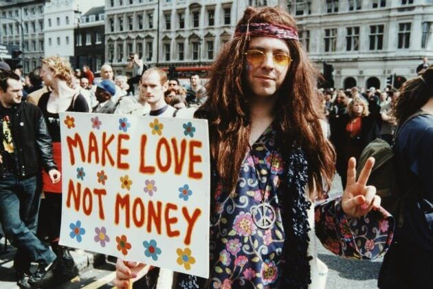 During The 1960s Hippies Ushered In A Counter Culture Movement Of Peace Free Love And Good Times That Left World Forever Changed