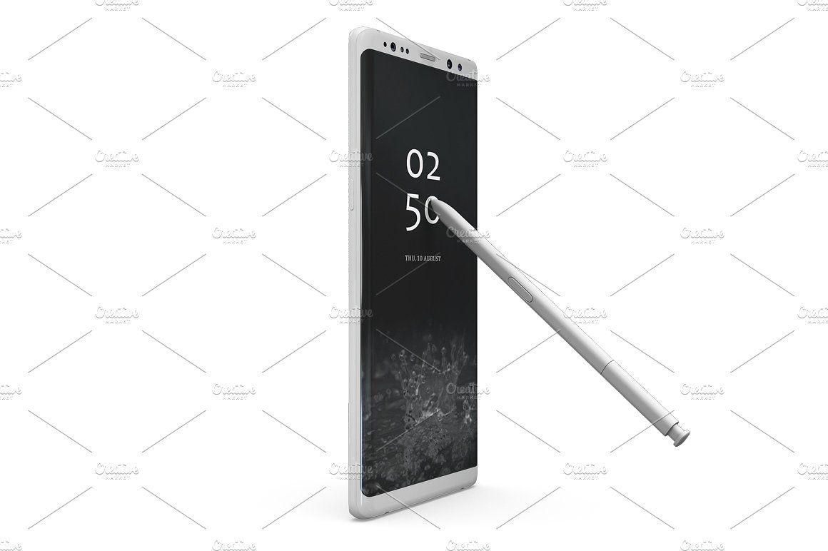 Samsung Galaxy Note 8 Mockup Samsung Galaxy Note 8 Galaxy Note 8 Personal Presentation