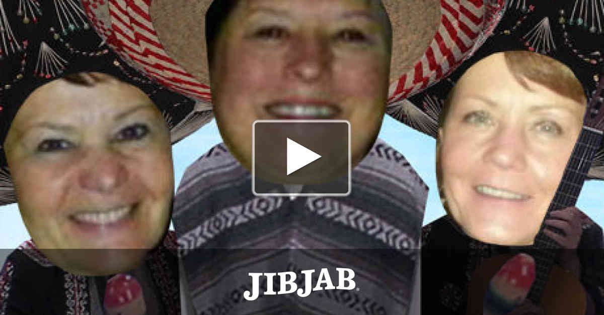 """Trade that Santa hat for a sombrero and fiesta the night away with a couple friends to the holiday classic """"Feliz Navidad!"""""""