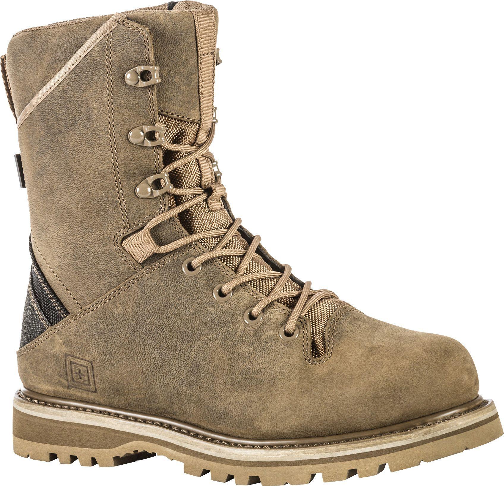 5 11 Tactical Men S Apex 8 Waterproof Tactical Boots Boots Nylons Heels Tactical Clothing