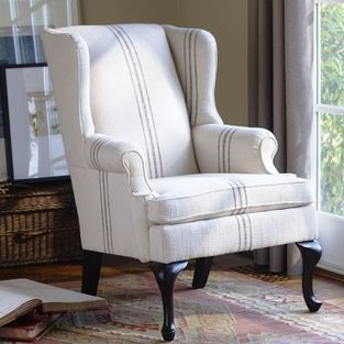 Gramercy Wingback Chair Add A Little Parisian Flavor To Your