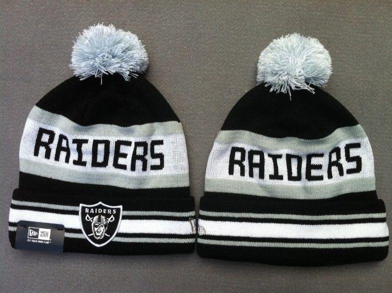 bd0cca6e252 NFL Beanies New Era Knit Hats Caps Oakland Raiders 1329752! Only  7.90USD