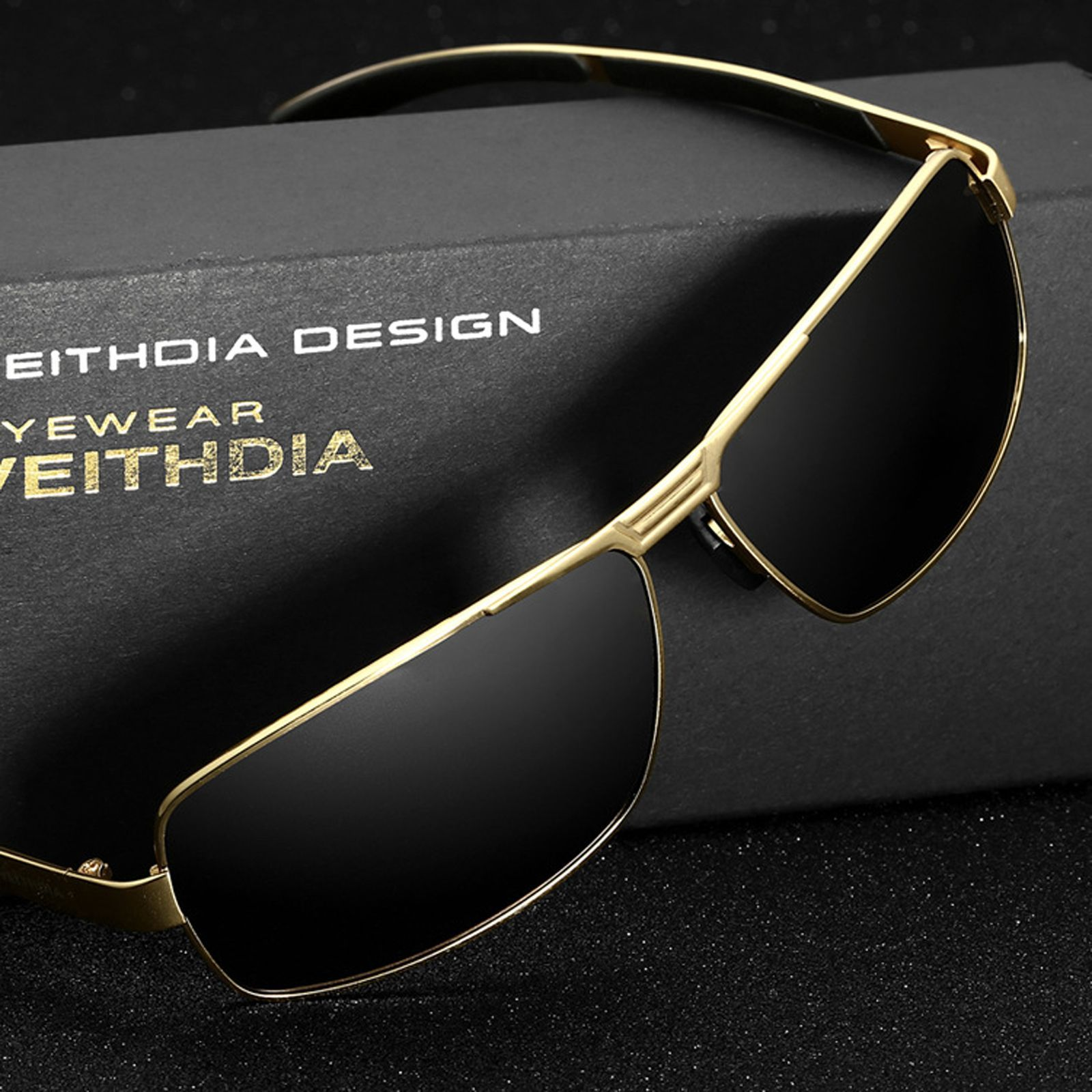 89c403f33f VEITHDIA Brand Men s Sunglasses Polarized Sports Sun Glasses Driving oculos  de sol masculino Eyewear Accessories For
