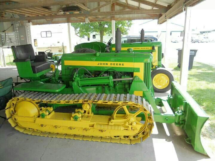 John Deere 420 Crawler Parts manual