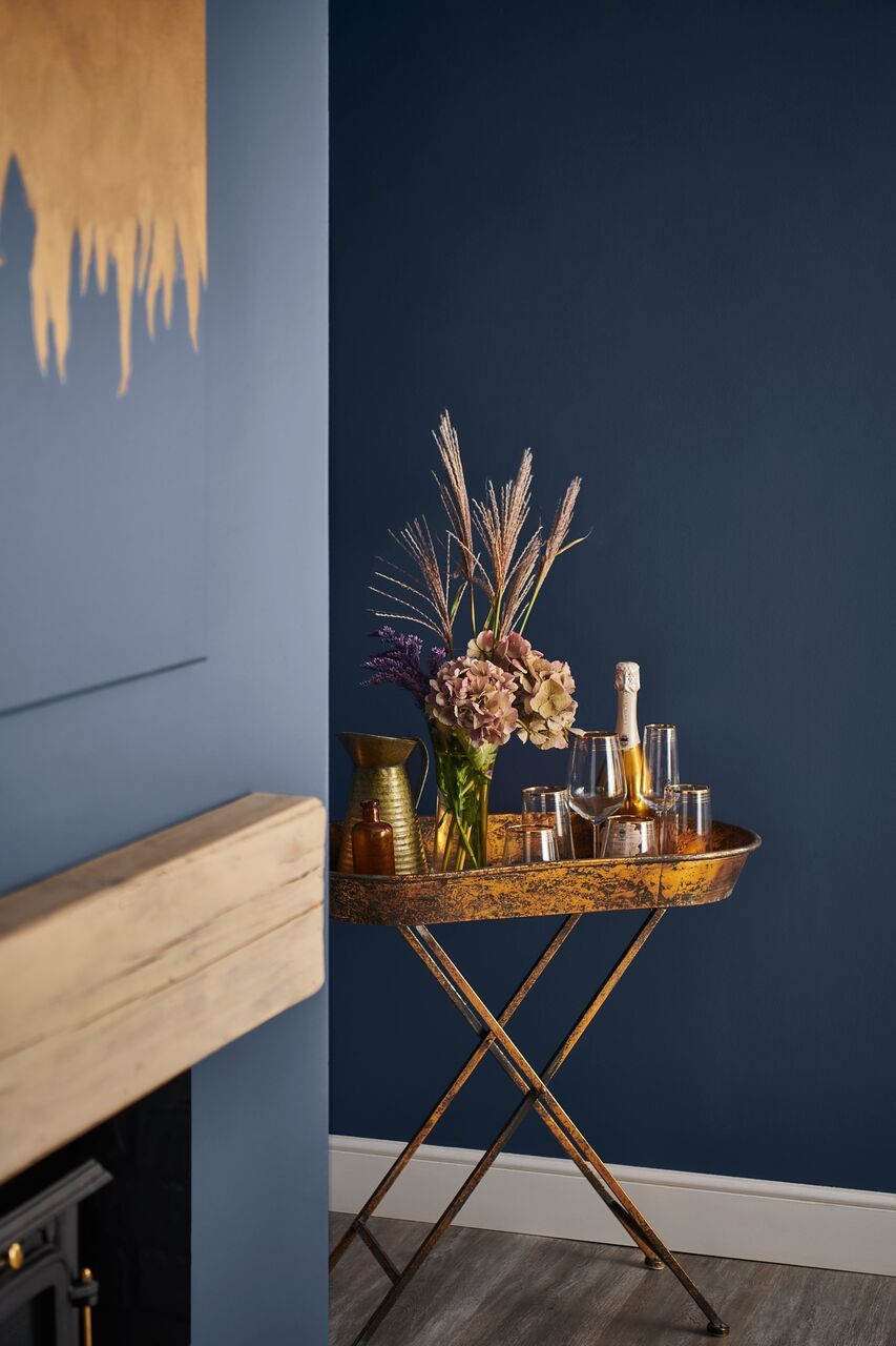 Durable Matt Emulsion Paint Intense Blueberry 2 5l In 2019