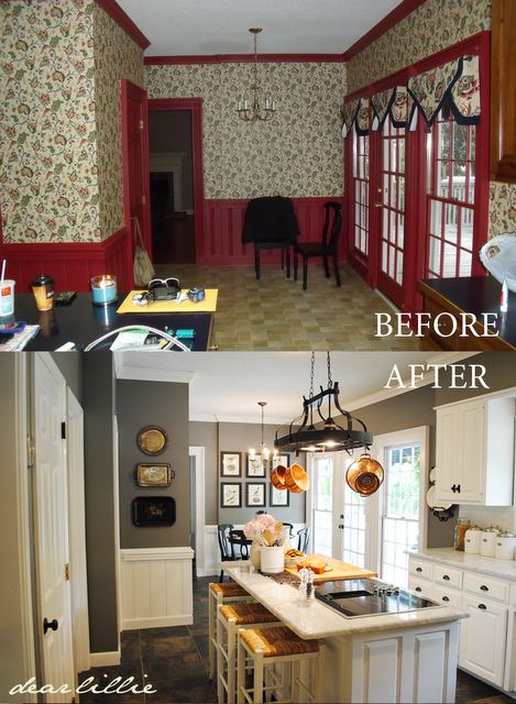 Kitchen Makeover Stunning For The Home Huge Kitchen Diy