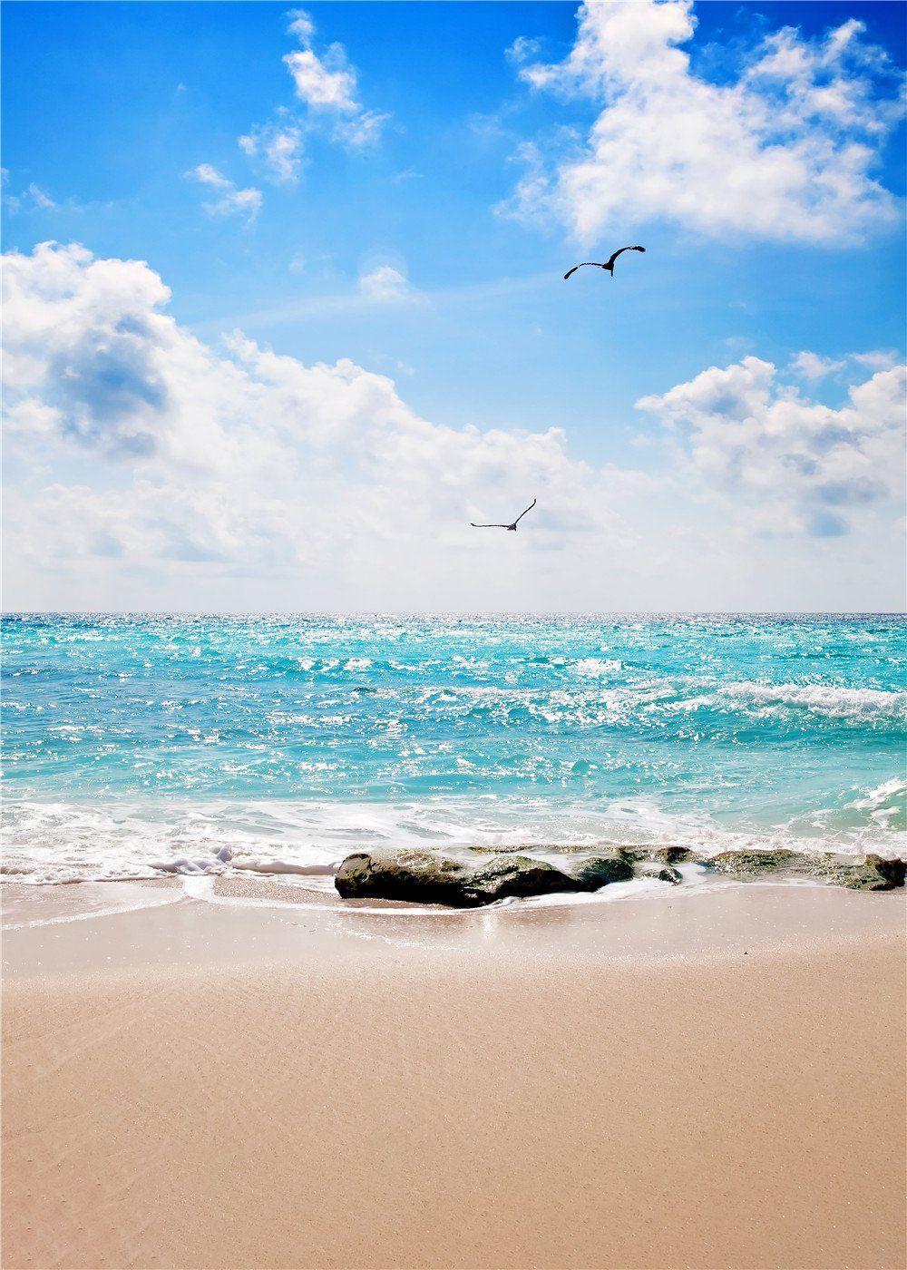 Pin On Summer Beach Backdrop