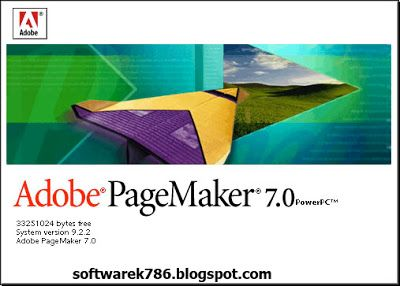 adobe pagemaker 7.0 full version free download for pc