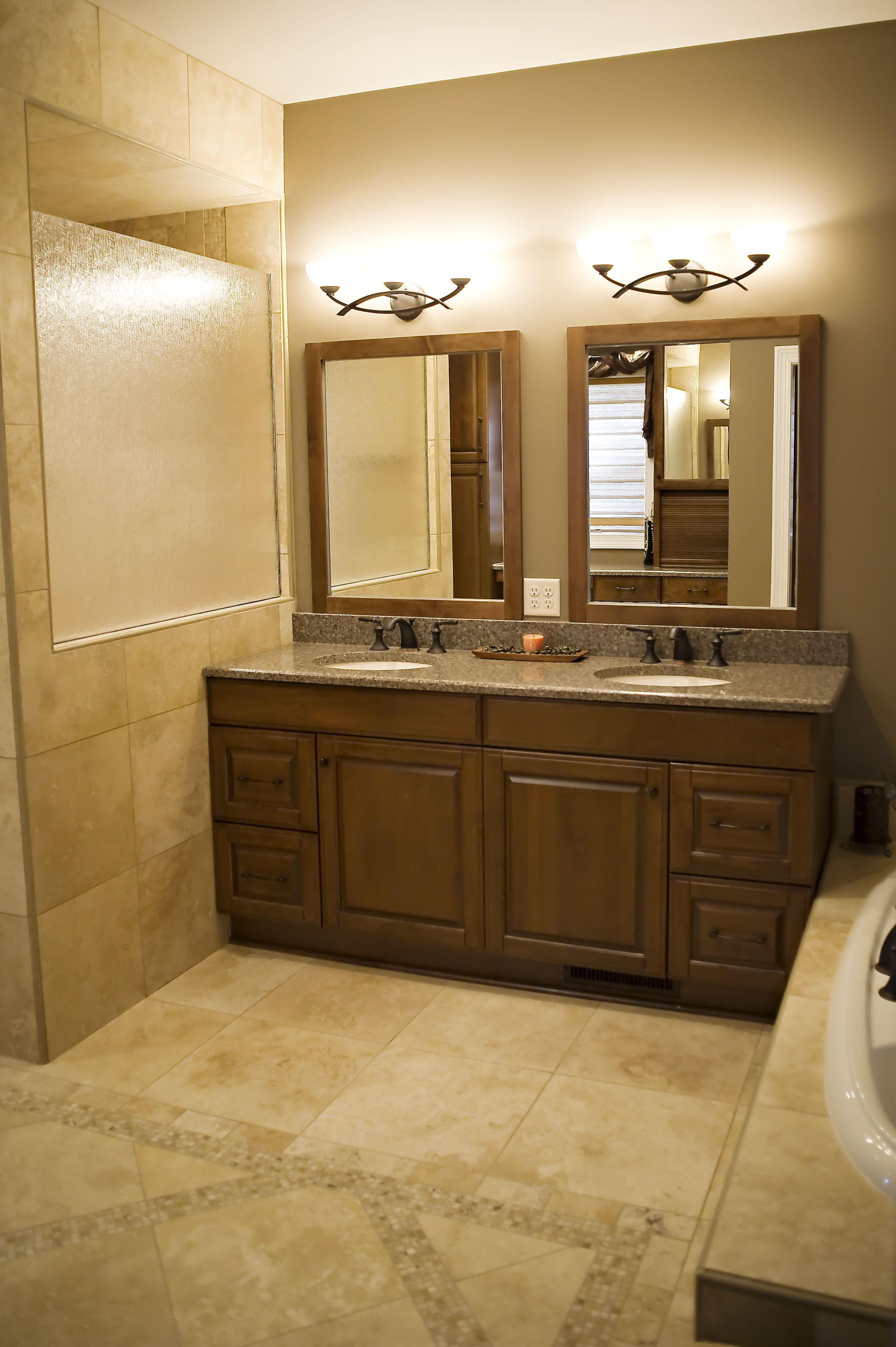 His And Her Vanity Bathroom Remodel