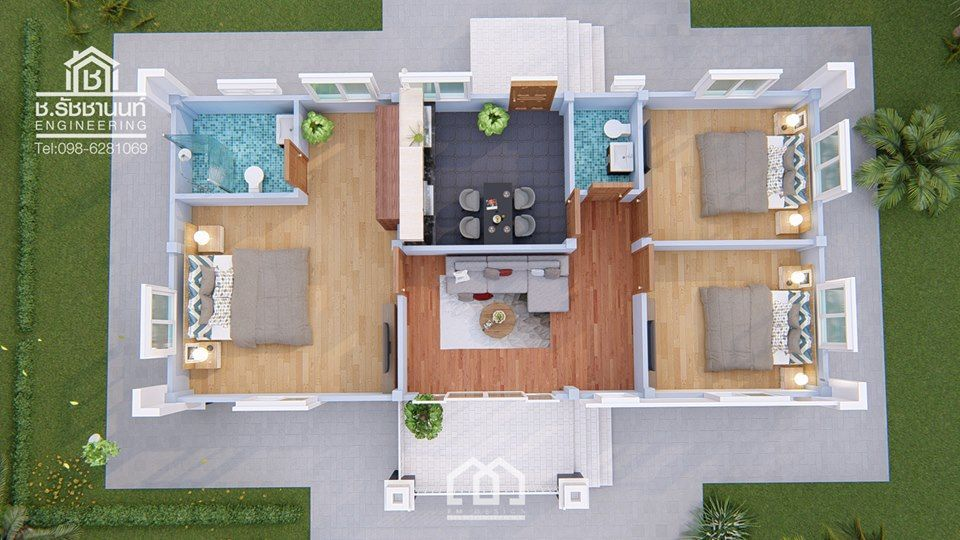 10 Contemporary House Designs With Floor Plan Perfect For Modern Family Contemporary House Design Small House Design House Design