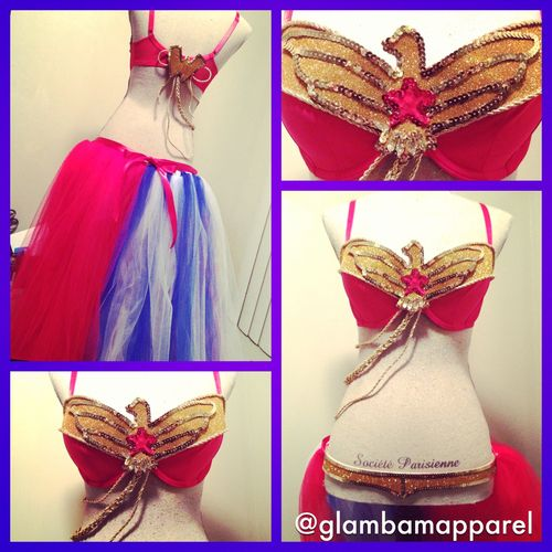 Wonder Woman Outfit! Email glambamapparel@gmail for custom - halloween costume ideas tumblr