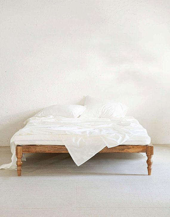Platform Bed Wood Siderails And Footboard To Attach To A Foo Foo