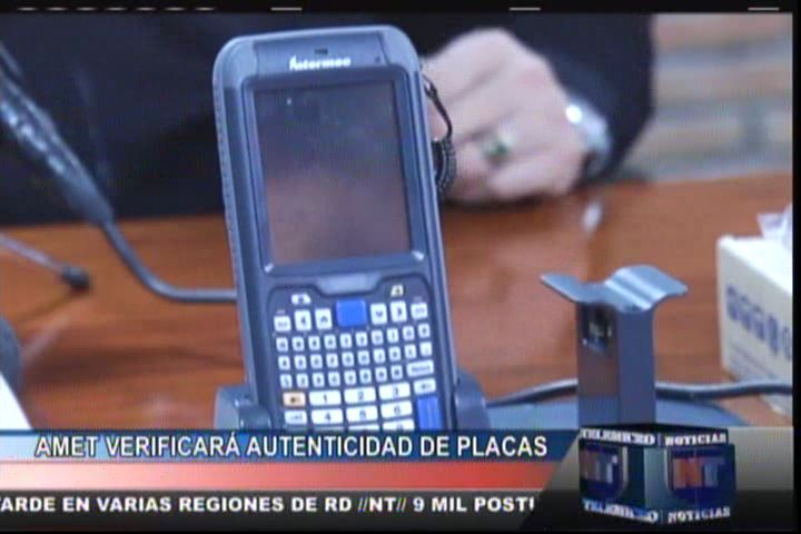 Amet Verificara Autenticidad De Placas #Video