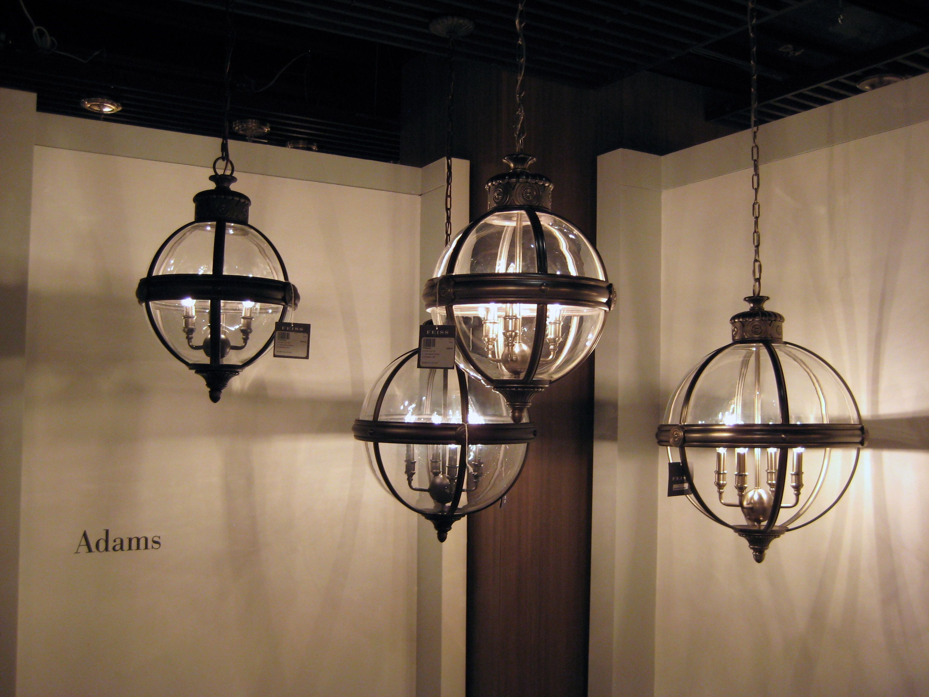 Feiss Bristol 2 Light Vanity Fixture In Oil Rubbed Bronze: Adams Collection, Feiss, Oil Rubbed Bronze & Antique
