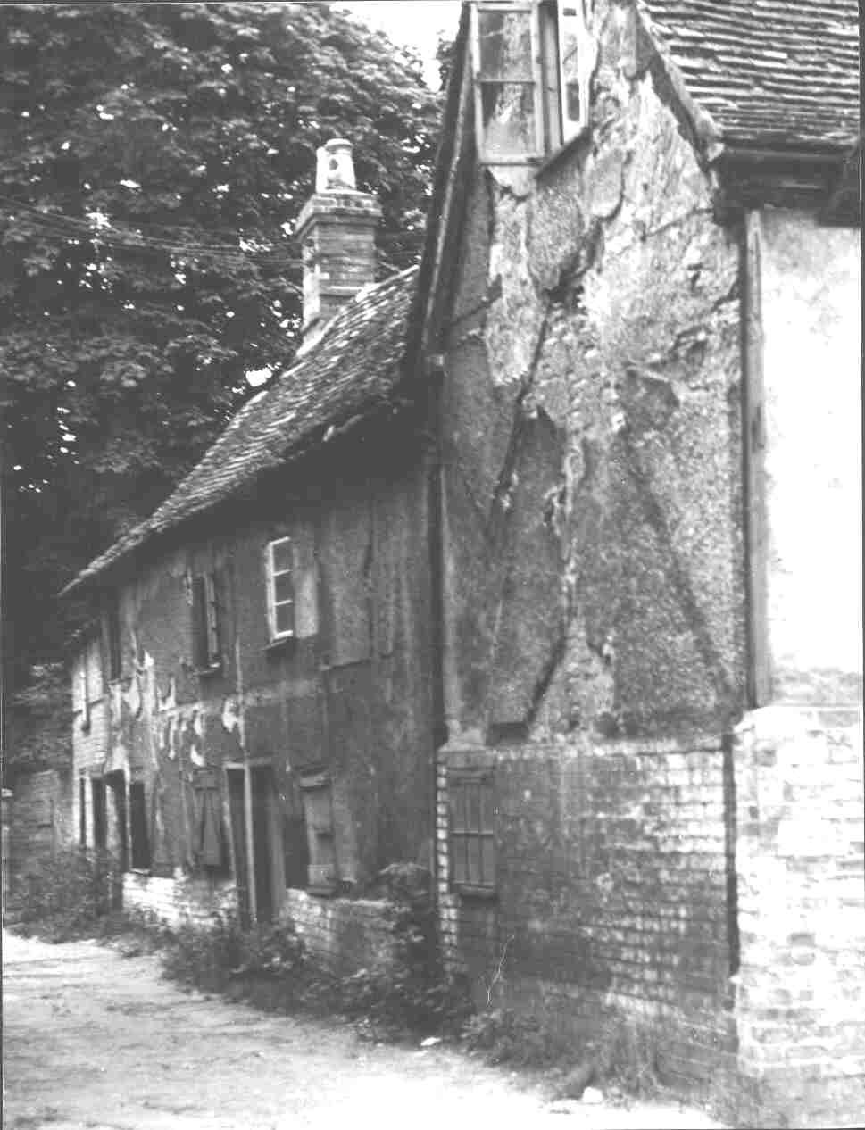 The Cottage Where James Toller Eynesbury Giant Was Born In 1798