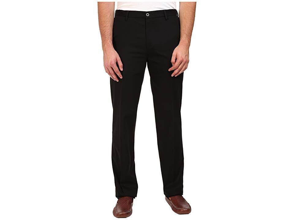 Dockers Big Tall Signature Khaki D3 Classic Fit Flat Front Black X Stretch Mens Casual Pants The original Dockers khaki is a superb style choice for work or weekend D3 Cl...