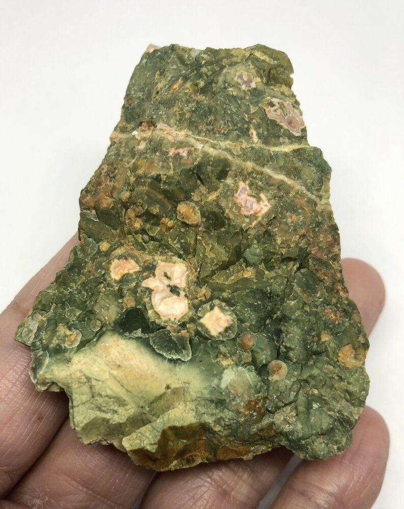Rainforest Jasper Rough from Australia 57g Crystal Healing