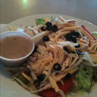 Chef salad. Papa Joe's
