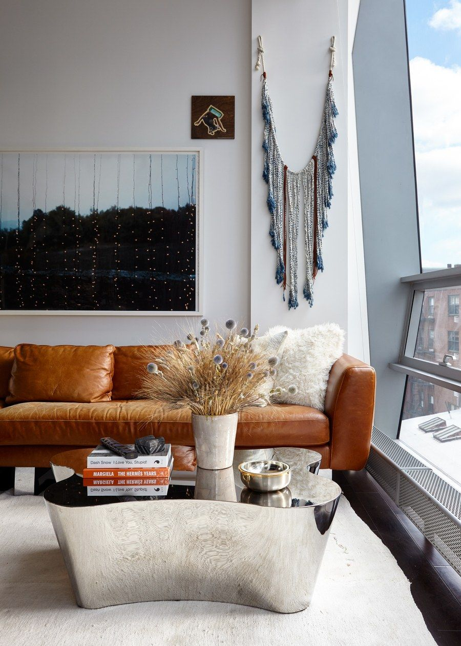 Woonkamer Set Modern Jessie Schuster S Manhattan Apartment Used To Look Like The Inside