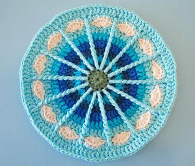 Mandala - padrão grátis | crochet grátis
