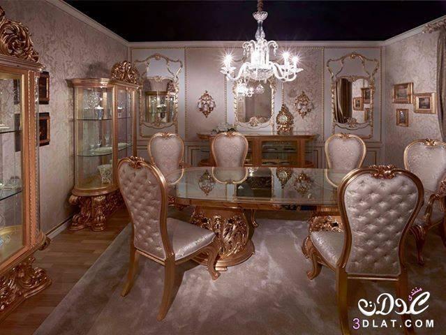ديكورات سفرة مودرن 2020 بالصور أحدث تشكيله سفرة مودرن صور سفر مودرن 2020 Dining Chairs Furniture Home Decor