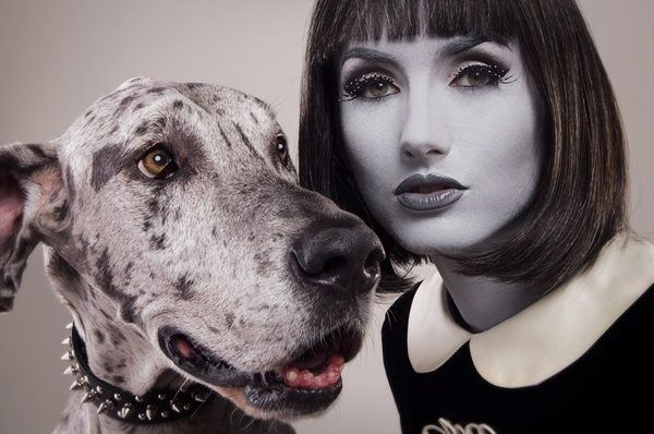 greyscale charater makeup - Google Search