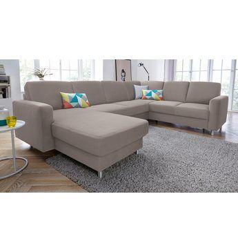 Wohnlandschaft, wahlweise mit Bettfunktion Jetzt bestellen unter - wohnzimmer couch günstig