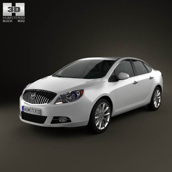 3d Model Of Buick Verano Excelle Gt 2012 Buick Verano Buick 3d Model