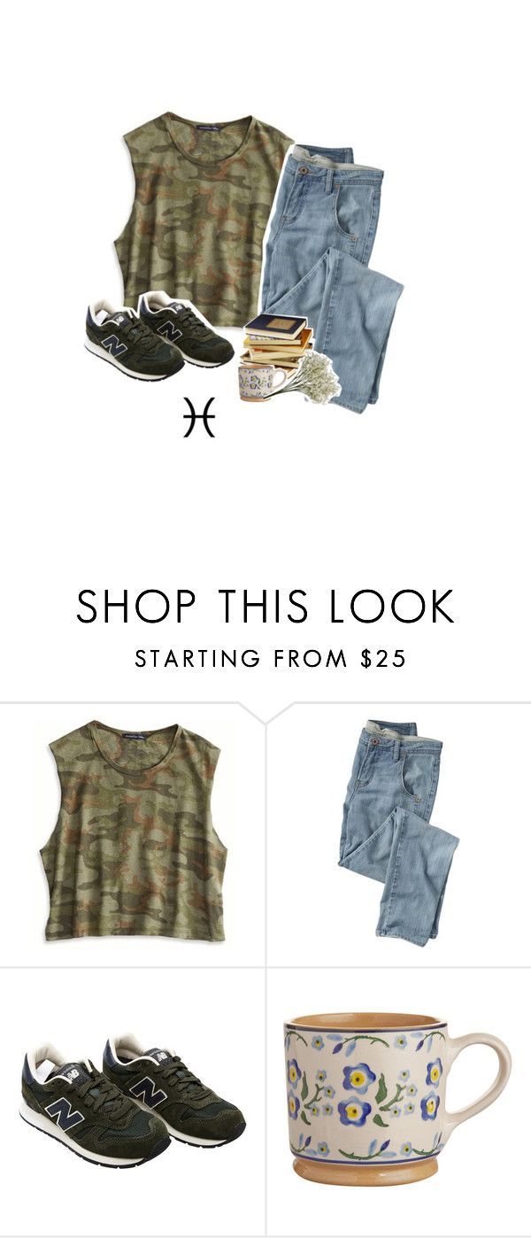 """""""+. pisces zodiac"""" by oisauce ❤ liked on Polyvore featuring American Eagle Outfitters, Wrap and New Balance"""