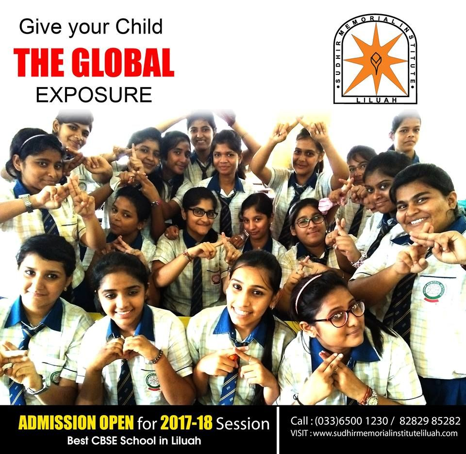 CBSE School Admission in Howrah - Best English Medium School in Howrah.  We are inviting application for admission for the Academic Session 2017-2018 from Nursery to Class VIII in best cbse school in Howrah.