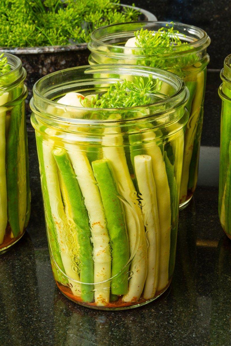 Crisp Pickled Green Beans Recipe