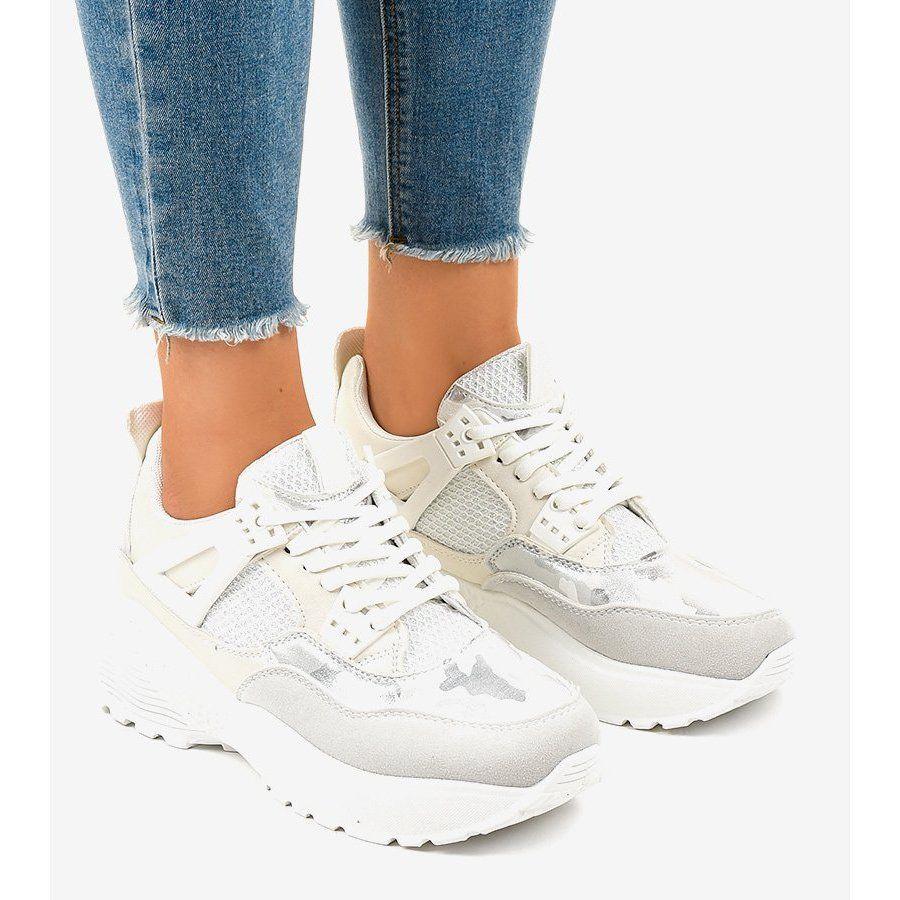 Biale Modne Damskie Obuwie Sportowe C2 Shoes Women Shoes Sport Shoes Women