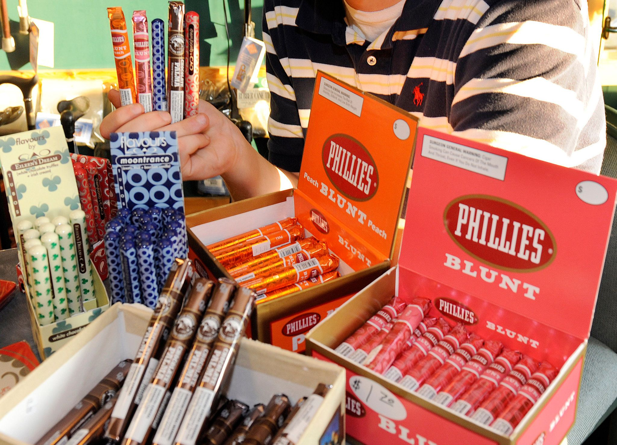 Exactly What We Dont Want  Chocolate Flavored Cigarillos (Virtually