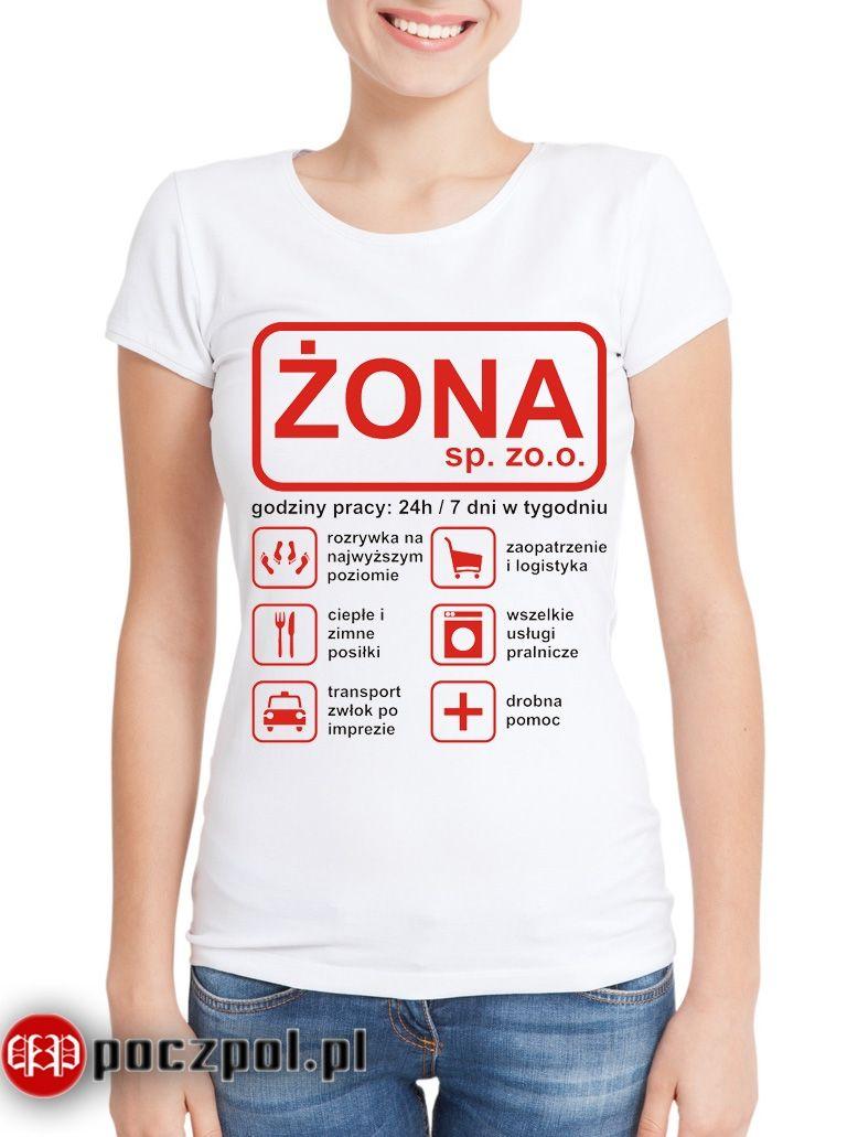 Zona Sp Z O O Smieszne Koszulki Koszulki Stroje