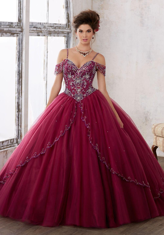 6ca12df6ae Encontrar Más Vestidos de quinceañera Información acerca de Vestidos de 15  Anos Presentación Vestidos de Quinceañera vestido de Bola Del Grano rojo de  Vino ...