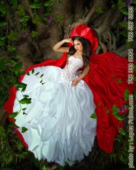 49f408b3c Red riding hood Quinceanera Party Red riding hood Theme Sweet 15  Photography Video Dresses Photo Shoot