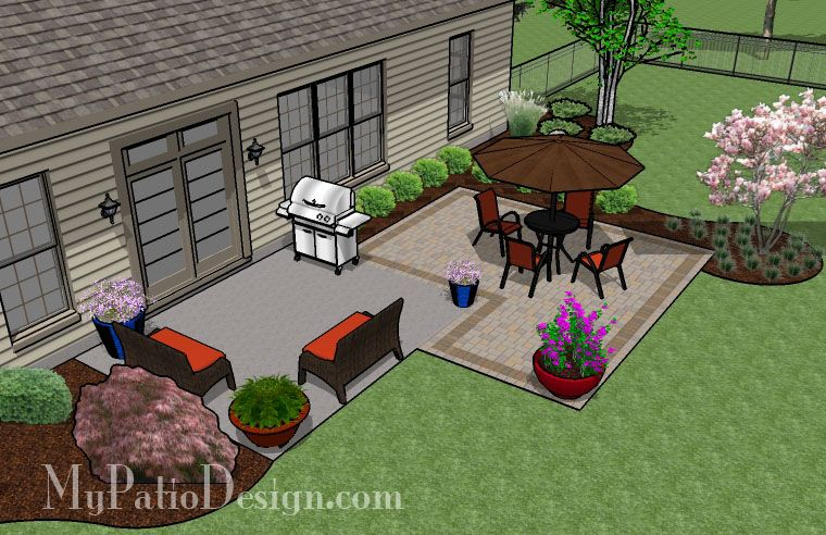 288 Sq Ft Diy Patio Addition Design Small Patio Design Patio Addition Patio Furniture Layout