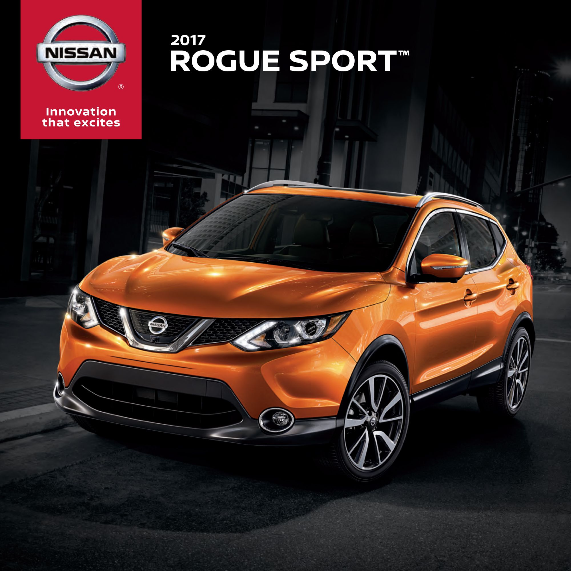 Meet the brandnew 2017 Nissan Rogue Sport. The versatile