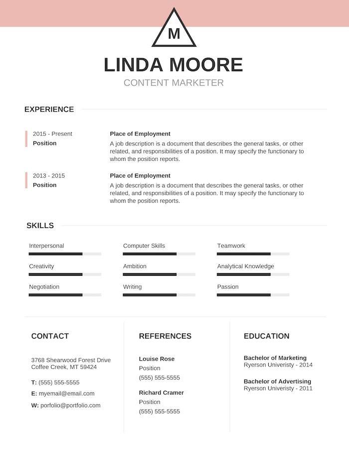 15  resume design tips  templates  u0026 examples
