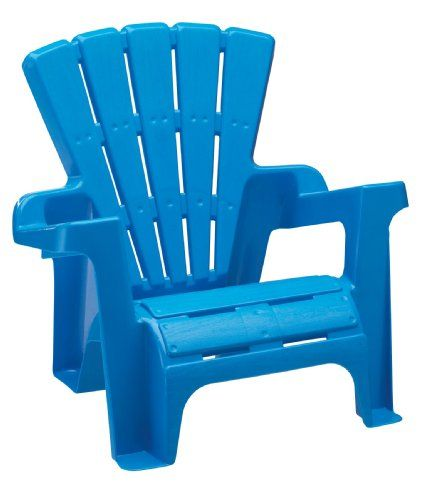 Kids Plastic Adirondack Chair