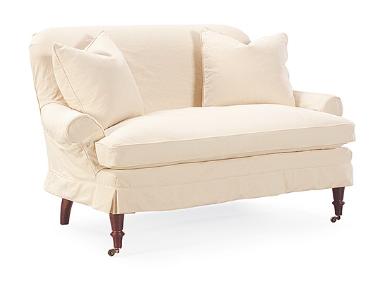Prime Lee Industries C1006 02 Slipcovered Loveseat Home Forskolin Free Trial Chair Design Images Forskolin Free Trialorg