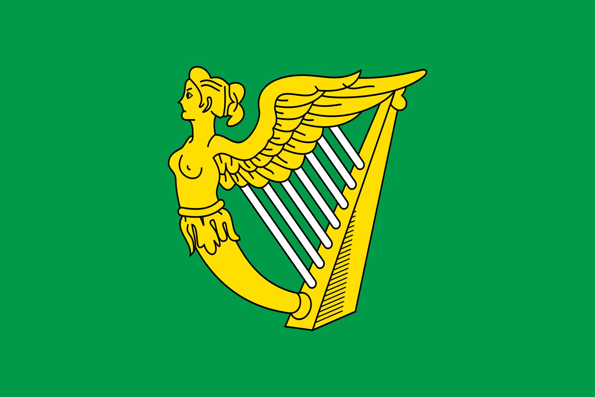 Flag Of Ireland Erin Go Bragh Irish Flag Ireland Flag