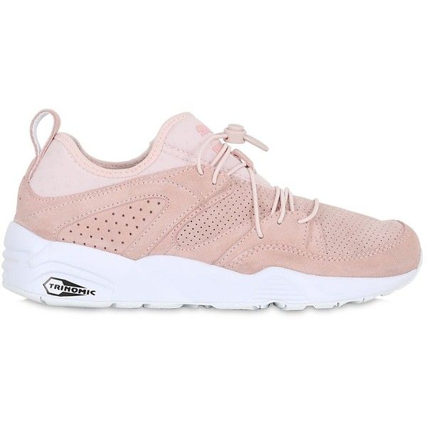 Light pink sneakers