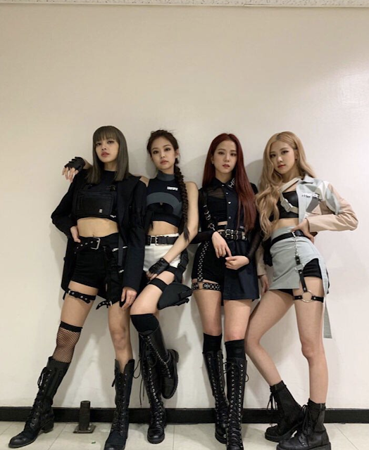 Blackpink Kill This Love Outfits Blackpink Fashion Kpop Outfits Performance Outfit