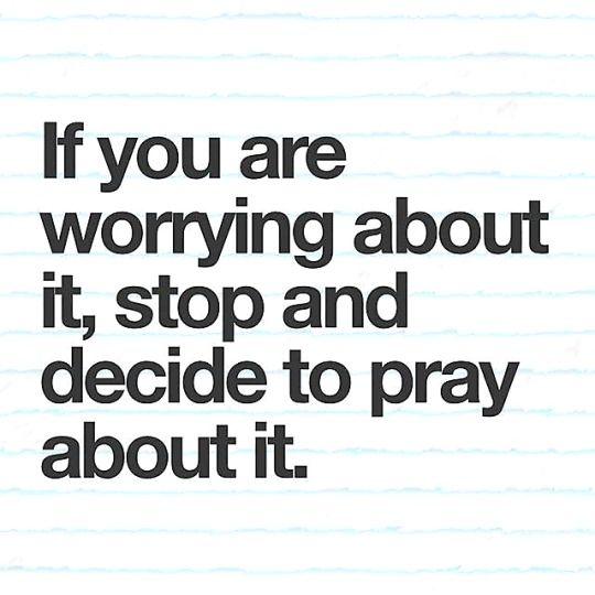 worry is the opposite of faith  trust God  #faith #pray #holytruth