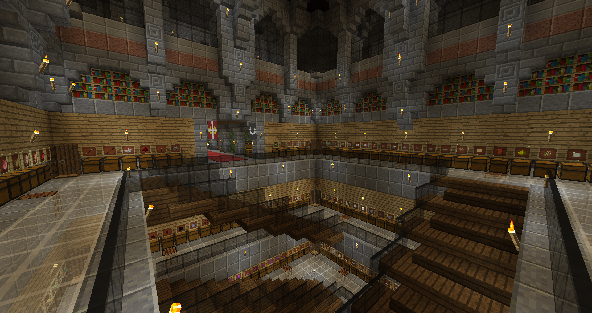 Another shot of our underground warehouse, this time with